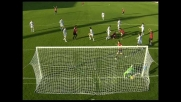 Livorno in vantaggio sulla Sampdoria con il goal di Knezevic