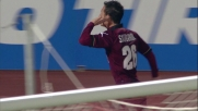 Livorno-Udinese: goal di Siligardi al Picchi