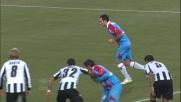 Lodi beffa Handanovic da calcio di rigore allo stadio Friuli