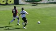 Lucarelli rincorre e in tackle ferma Konaté