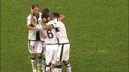 Lucarelli sblocca il match con un goal al volo