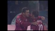 Lucarelli segna il goal della vittoria contro la Lazio