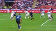 Lucio in versione goleador porta in vantaggio l'Inter a San Siro