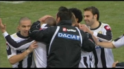 L'Udinese spaventa l'Inter con il goal di Pepe