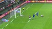 Luiz Adriano si gira e batte Viviano: è il goal del poker per il Milan