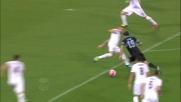 Lulic conquista un calcio di rigore contro la Fiorentina con una grande azione personale