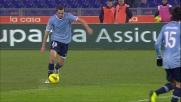 Lulic prende la mira e buca la difesa dell'Udinese: è il goal del pareggio laziale