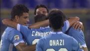Lulic realizza il goal vittoria contro il Catania con un destro chirurgico