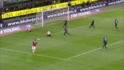 L'uscita di Julio Cesar su Boateng provoca un calcio di rigore