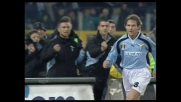 Nedved va a segno contro la Juventus su assist di Crespo