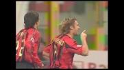 Shevchenko di testa, il suo goal porta avanti il Milan sulla Roma