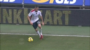 Gran tiro di Cossu a San Siro, il palo salva il Milan