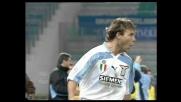 Nedved sfrutta al meglio l'assist di Salas: goal al Bologna