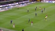 Maestosa parata di Julio Cesar su tiro ravvicinato di Ibrahimovic nel derby di Milano