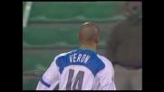 Magia di Veron! Inter in vantaggio sull'Udinese al Friuli