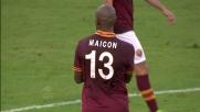 Maicon sblocca il match con un goal fortunoso che beffa Rafael