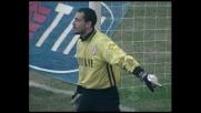 Maldini devia, una prodezza di Brivio gli nega il goal