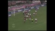 Maldini di testa apre le marcature contro il Perugia