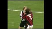 Maldini trattiene Tore Andre Flo: è rigore per il Siena