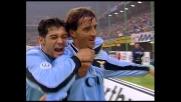 Mancini implacabile davanti a Pagliuca, goal della Lazio