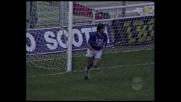Mancini sulla respinta di Gregori, goal della Samp nel derby
