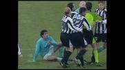 Mani in faccia a Corradi: Alberto espulso in Lazio-Udinese