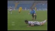 Manninger stende Iaquinta, calcio di rigore per l'Udinese