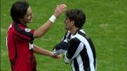 Mano sul pallone per fermare Inzaghi, rosso diretto per Vergassola