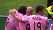 Mantovani soprende tutti e segna il goal del tris del Palermo