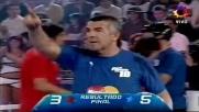 Maradona e Messi gran coppia di calcio-tennis