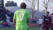 Marchetti alza il muro biancoceleste e nega il goal a Defrel