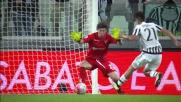 Marchetti d'istinto compie una gran parata su Dybala allo Juventus Stadium