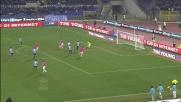 Marchetti nega il goal a Giaccherini con una grande parata in uscita