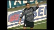 Marco Amelia toglie la gioia di un goal a San Siro a Rui Costa