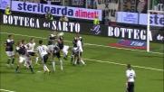 Marco Rossi trattiene Diakité procurando un rigore alla Lazio