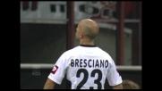 Mark Bresciano porta in vantaggio il Palermo a San Siro contro il Milan