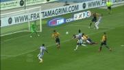 Marquez trattiene Llorente in area: rigore per la Juventus