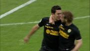 Marquinho da fuori area segna il goal del momentaneo pareggio del Verona