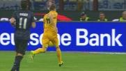 Martinho con un grande inserimento realizza il goal all'Inter