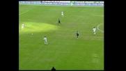 Martins sfortunato, il suo sinistro va sul palo contro l'Udinese