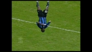 Martins va in goal contro l'Udinese a San Siro