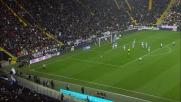 Matri espulso per proteste al Friuli nel match Udinese-Lazio