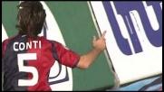 Matri fa il prestigiatore e Conti porta in vantaggio il Cagliari