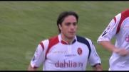 Matri firma il goal che vale il blitz del Cagliari al Dall'Ara