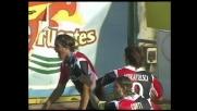Matri schiaccia di testa, goal del Cagliari col Catania