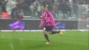 Matri segna il goal della vittoria sull'Udinese firmando una doppietta