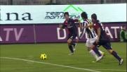 Matri sorprende il Cagliari con un goal sul primo palo a favore della Juventus