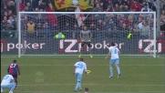 Mauri dal dischetto sigla il goal del 2-2 contro il Genoa