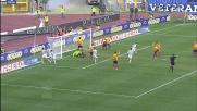 Mauri di mestiere segna da palla inattiva il goal dell'1-1 contro il Lecce