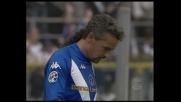 Mauri ringrazia Baggio e porta in vantaggio il Brescia con la Lazio
